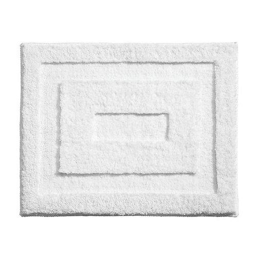 WHITE SPA BATH RUG 21 X 17