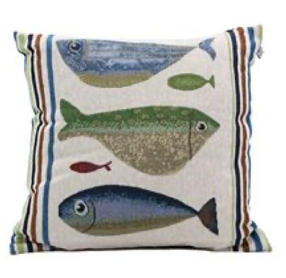 Fish Tales Pillow