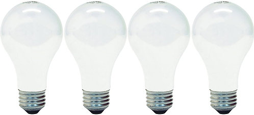 Soft White Lightbulbs - 4 pack (100 watt)