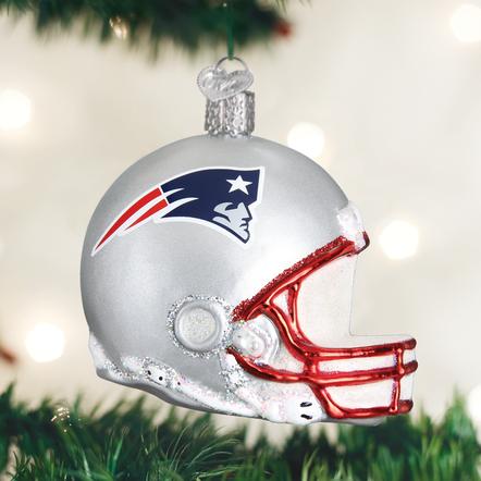 Old World Christmas Patriots Helmet Ornament