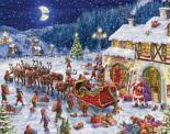 Santa's Sleigh Advent Calendar