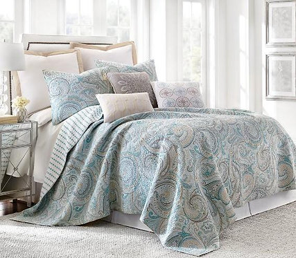 Quilt Set Spruce - Full/Queen
