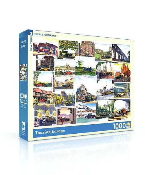 PUZZLE 1000 TOURING EUROPE