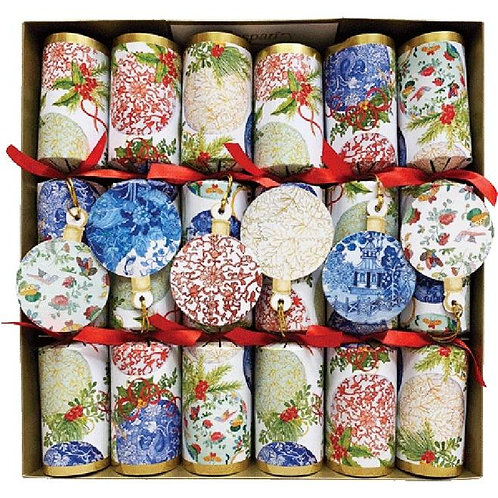 Porceline Ornaments Christmas Crackers