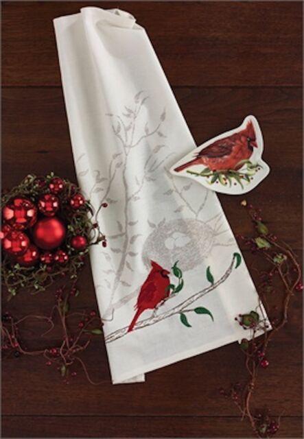 Cardinal Dish Towel