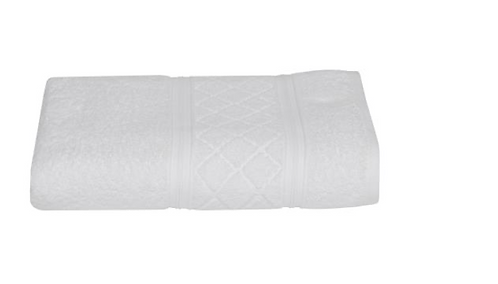 Radiance Bath Towel - White
