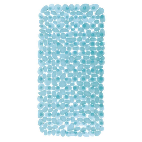 BLUE PEBBLE BATH MAT