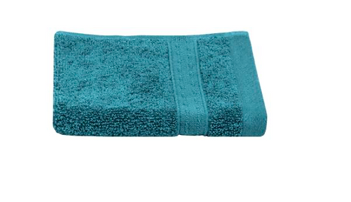 Celeste Wash Towel - Peacock
