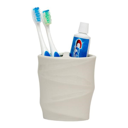 Silhouette Toothbrush Holder - White