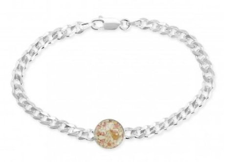 DUNE JEWELRY - Diamond Cut Abalone Bracelet