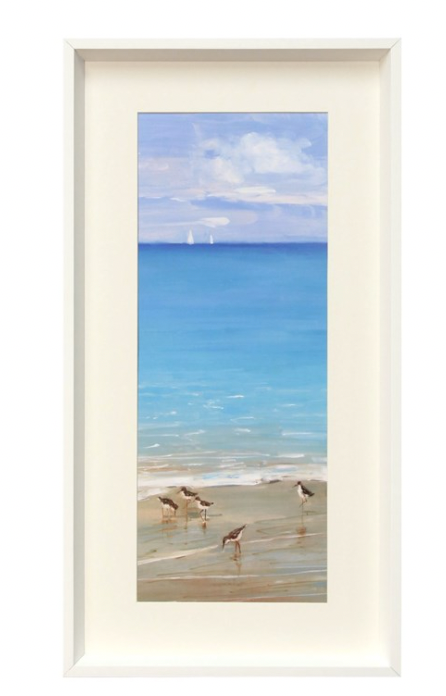 Framed Bird Print II