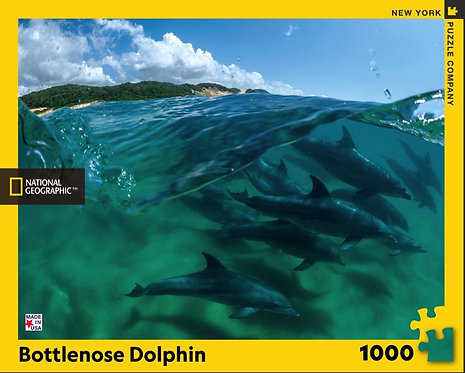 PUZZLE 1000 BOTTLENOSE DOLPHINS