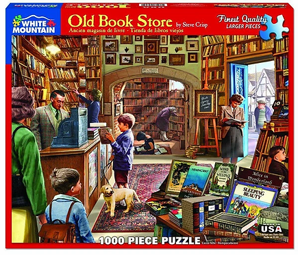 PUZZLE 1000 OLD BOOK STORE