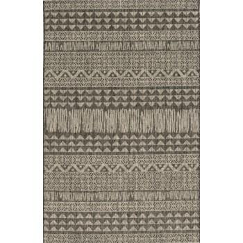 PROVO CHARCOAL TRIBE MACHINE WOVEN 53X77