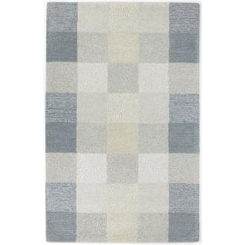 SEASIDE CHECKERBOARD HAND-TUFTED 5X8