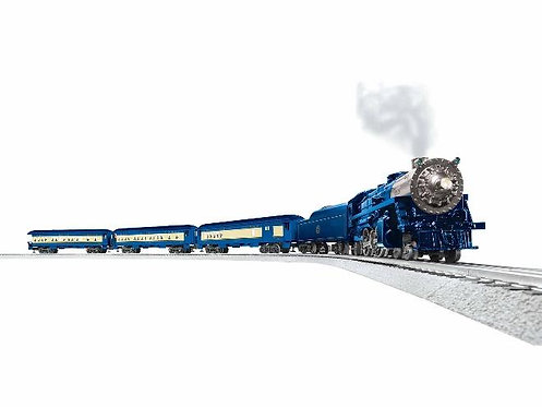 Lionel Blue Comet O Gauge Passenger Train set