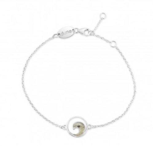 DUNE JEWELRY - Delicate Dune Wave Bracelet