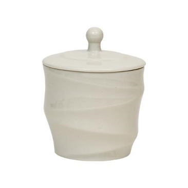 Silhouette Canister - White