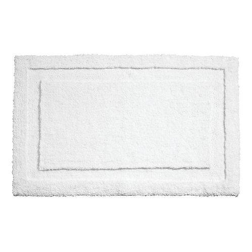 WHITE SPA BATH RUG 34 X 21