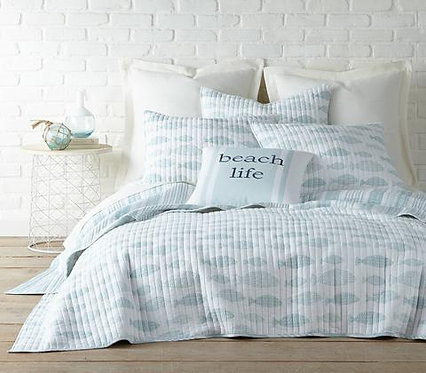 Quilt Set Aqua Breeze - Twin