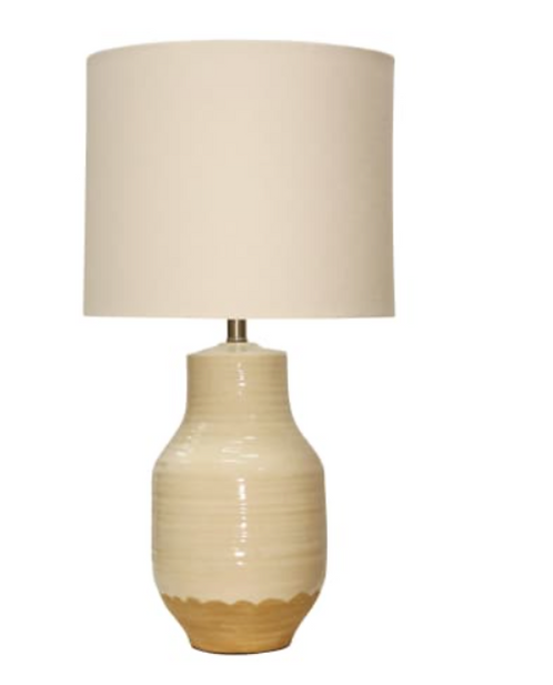 Prova Beige Ceramic Table Lamp
