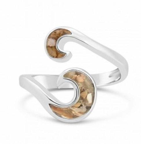DUNE JEWELRY - Skaket Wave Ring