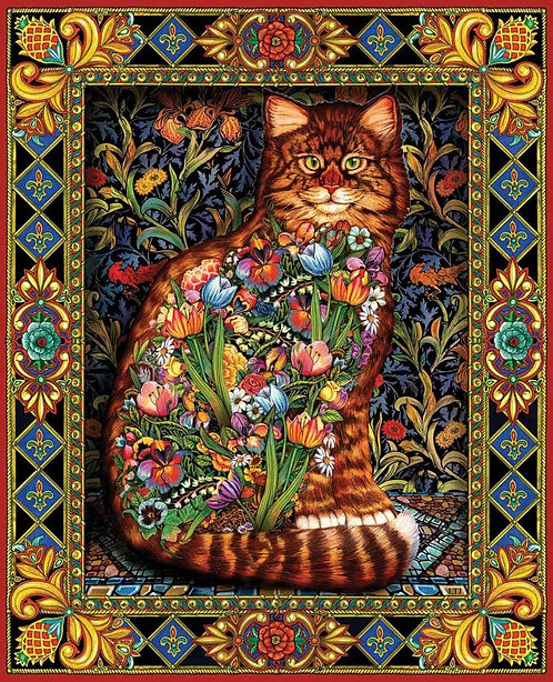 PUZZLE 1000 TAPESTRY CAT