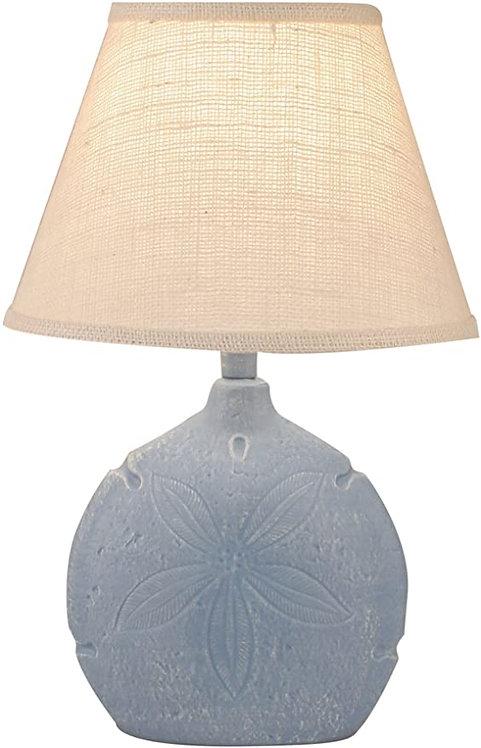 Sand Dollar Table Lamp - Blue