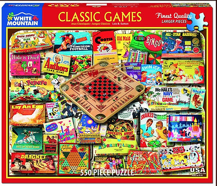 PUZZLE 550 CLASSIC GAMES