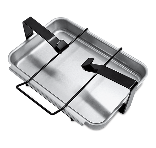 GRILL CATCHPAN AND HOLDER