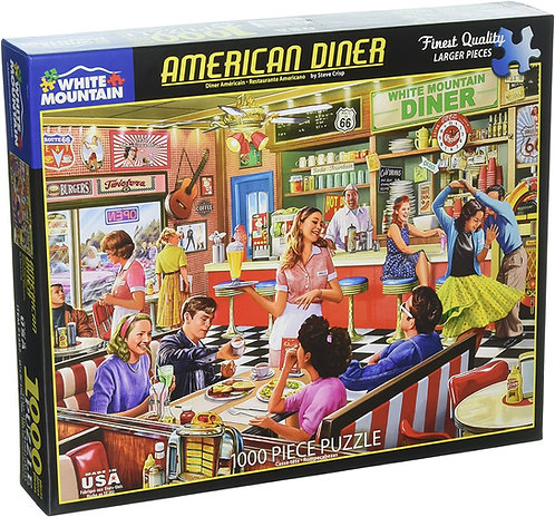 PUZZLE 1000 AMERICAN DINER