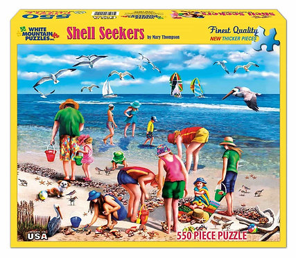 PUZZLE 550 SHELL SEEKERS