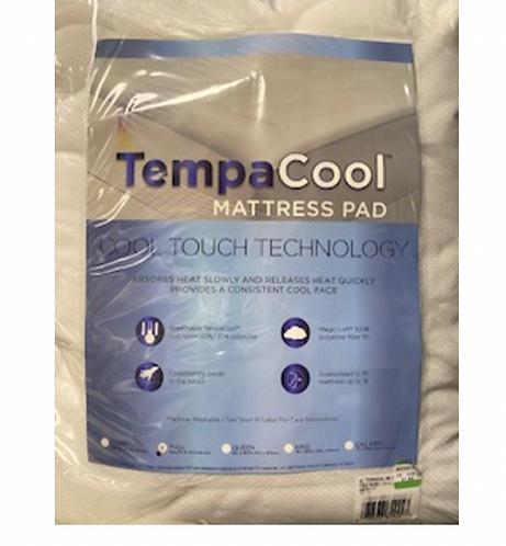 Tempa Cool Mattress Pad - Full