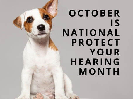 "October is ""National Protect your Hearing Month"""
