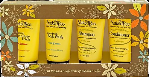 NAKED BEE - Orange Blossom & Honey Travel Kit