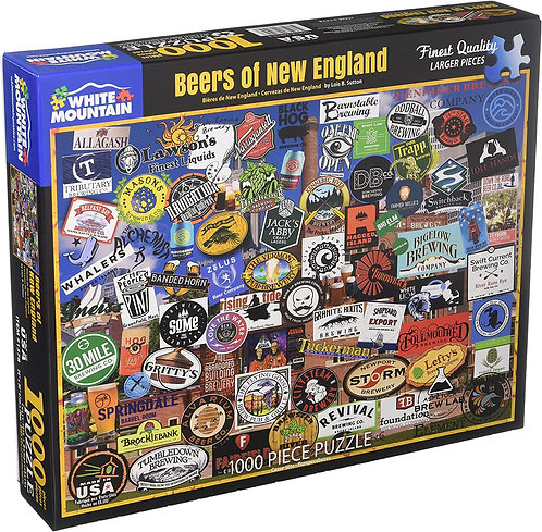 PUZZLE 1000 BEERS NEW ENGLAND