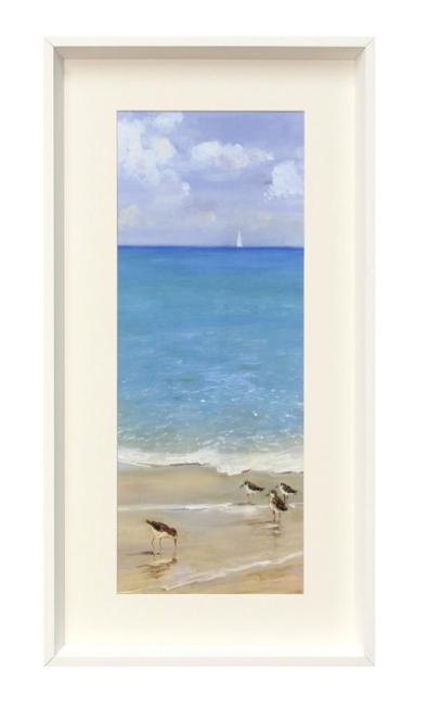 Framed Bird Print I