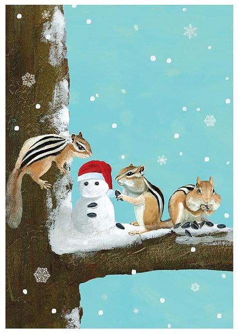 Chipmunks- Tree - Box (15 cards)