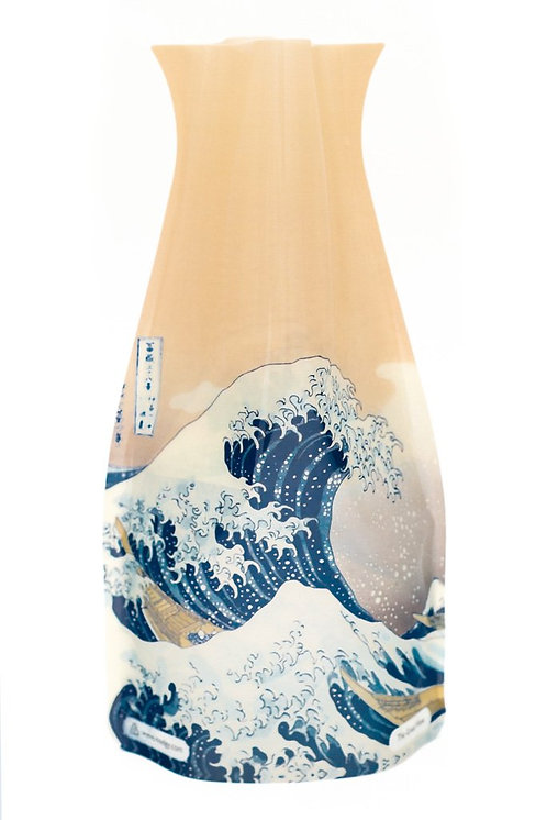 Modgy Expandable Flower Vase (The Great Wave)