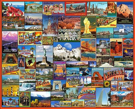 PUZZLE 1000 BEST PLACES AMERICA