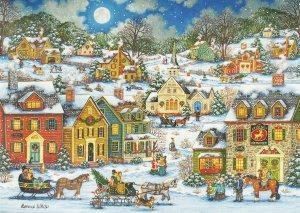 Festive Village - Box (20 cards)