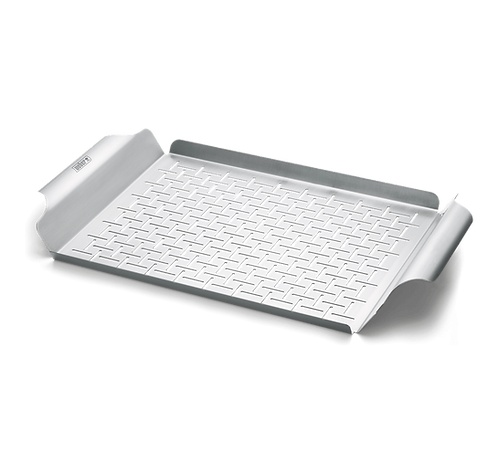 GRILL PAN SS RECTANGLE DELUXE