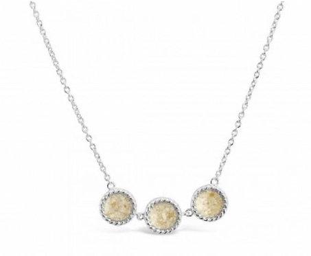 DUNE JEWELRY - Triple Drop Necklace