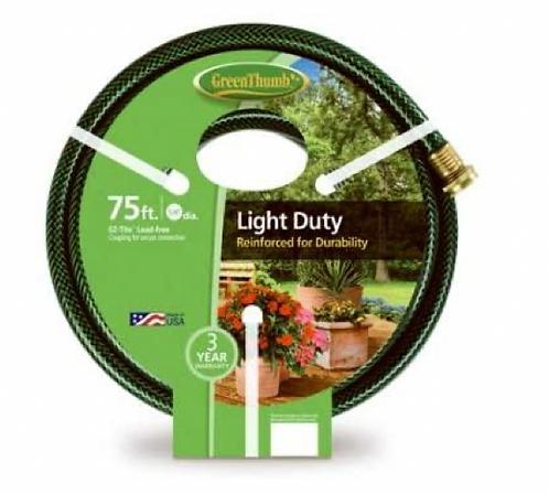 """Garden Hose 5/8""""x75' - Light Duty"""