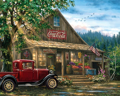 PUZZLE XMAS 1000 COUNTRY STORE