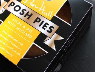 The Launch of Our New 'Posh Pies'