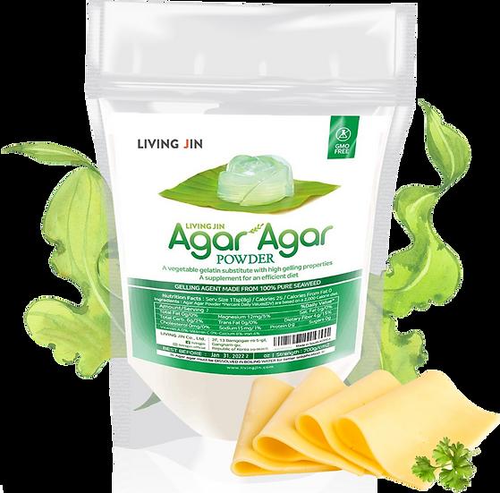 AGAR AGAR Powder 4oz with spoon