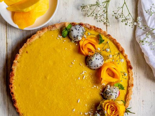 [6th contest] Mango Tart