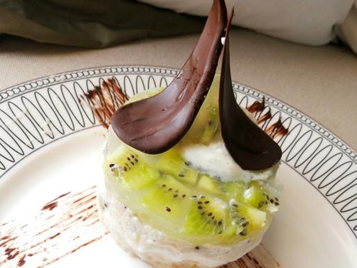 [6th contest] No Bake Kiwi Mousse Cake