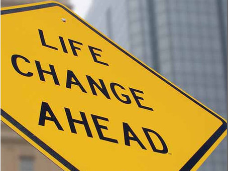 LIFE CHANGES--USE YOUR MARBLES